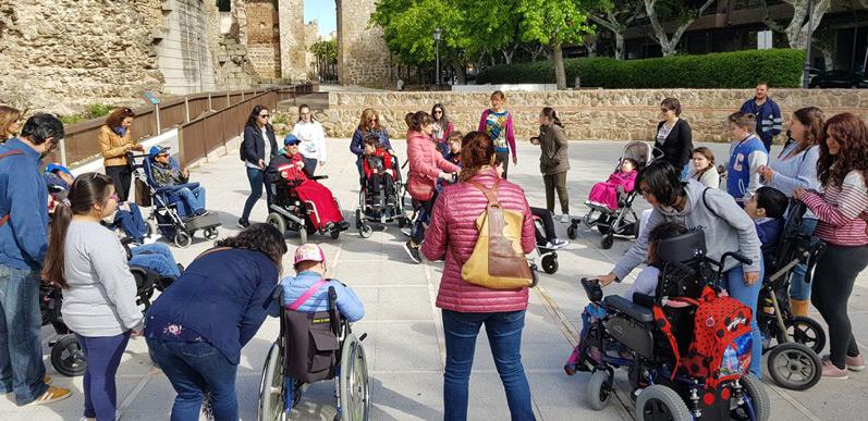 apace-colaboración-donaciones a la parálisis cerebral-Talavera