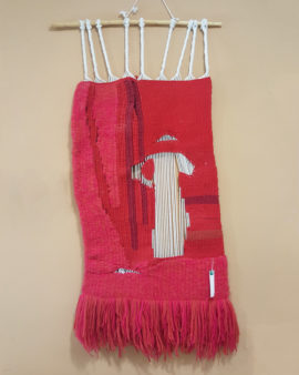 tienda tapices artesanales-tapiz campo hecho a mano-APACE Talavera